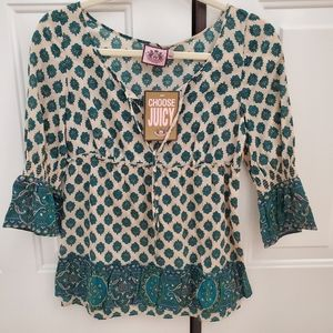 Juicy couture blouse